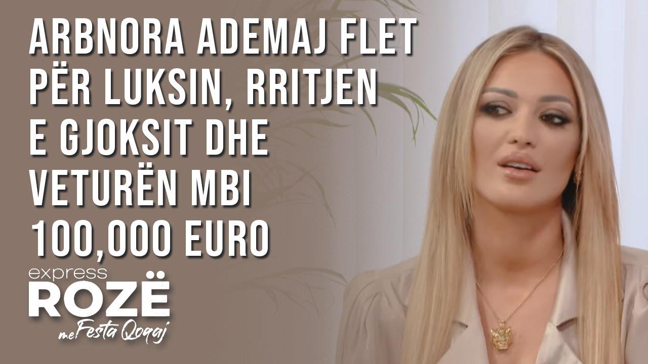 Arbnora Ademaj flet për luksin, rritjen e gjoksit dhe veturën mbi 100,000 euro