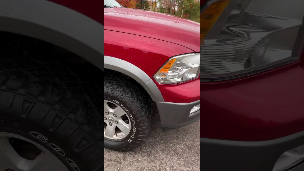 2010 Ram 1500 TRX 4 Off-road - YouTube