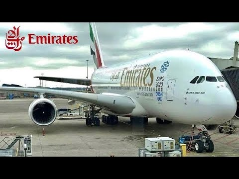 [HQ] Take off Airbus A380-800 Emirates from Paris Roissy Charles de Gaulle and landing to Dubaï DXB