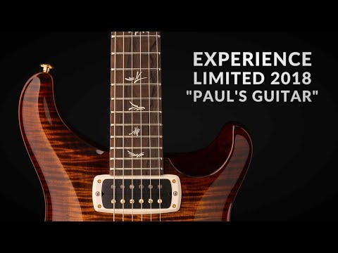 The Experience Limited 2018 Paul's Guitar   Demo by Bryan Ewald   PRS Guitars