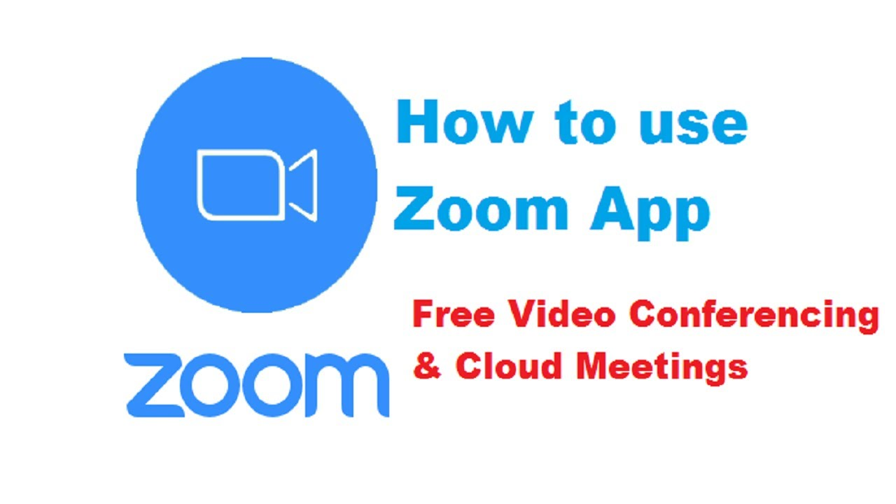 How to use Zoom Cloud Meeting App / How to use Zoom App- Free