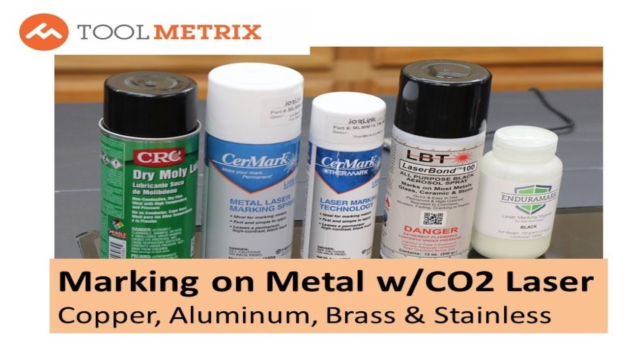 Laser Engrave on Metal Product Test: Cermark, Thermark, Enduramark,  LaserBond 100 &Dry Moly Lube