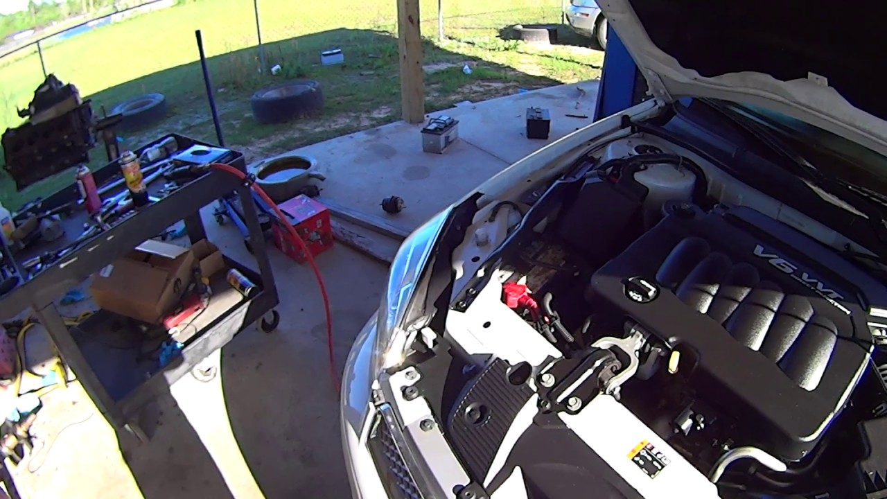 how to replace motor and trans mounts on 2012 and up chevy impala malibu and buick lacrosse [ 1280 x 720 Pixel ]