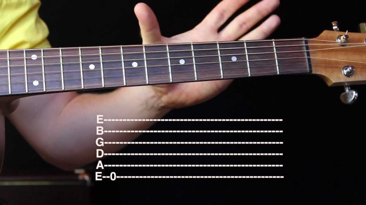 how to read and understand guitar tab youtube. Black Bedroom Furniture Sets. Home Design Ideas