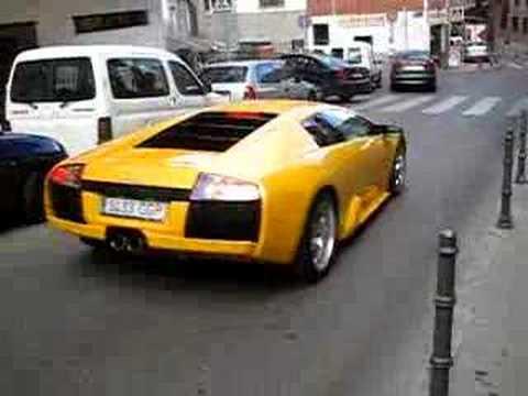 Lamborghini Murcielago Amarillo Parte 2 Youtube
