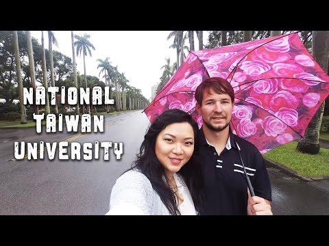 TRAVEL TAIWAN VLOG - National Taiwan University 台灣大學 #2