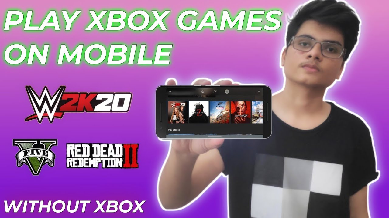 PLAY XBOX GAMES ON ANDROID - NO GAMEPAD NEEDED | FREE FOR EVERONE | WITH GAMEPLAY PROOF