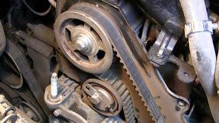 Замена  ремня ГРМ на автомобиле Ford Transit Connect 1,8 TDСI проще не бывает.(, 2015-11-15T13:12:17.000Z)