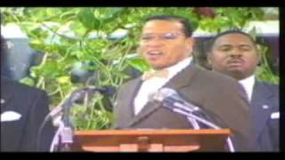 Beating prophecy pt 2 Honorable Minister Louis Farrakhan 6/10