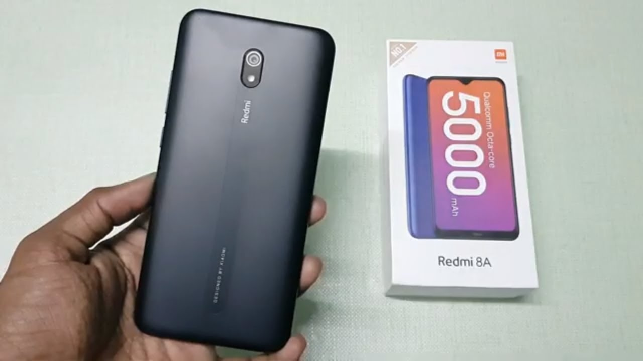Redmi 8A ( Midnight Black) Unboxing, Setup & Reset
