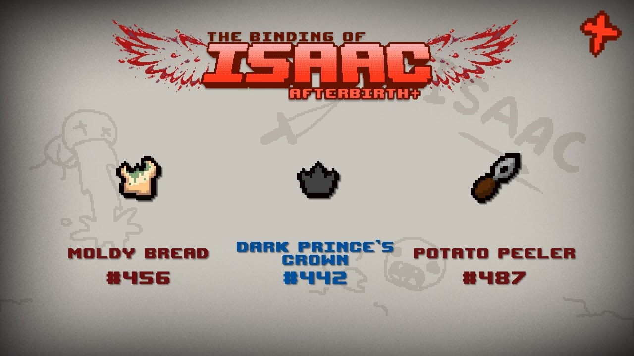 binding of isaac afterbirth item guide moldy bread dark