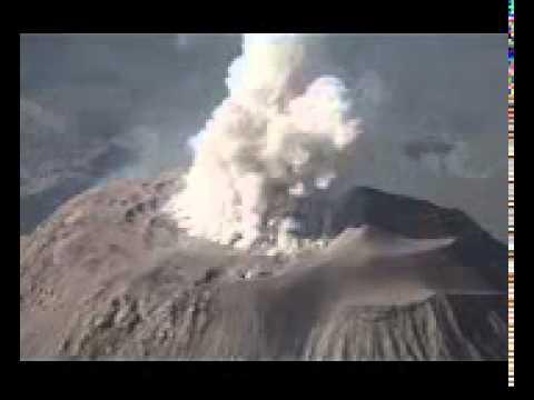 Santiaguito Volcano Eruption  Santa Maria complex