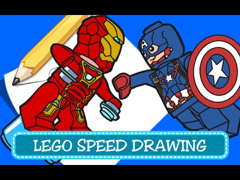 Speed drawing coloring pages disegni da colorare for Disegni da colorare iron man