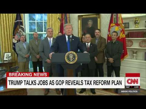 Trump: Tax reform bill will be done before Christmas (entire remarks)