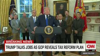 Trump  Tax reform bill will be done before Christmas (entire remarks)