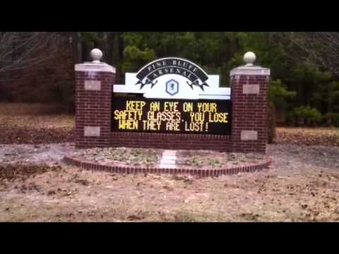 pine bluff arsenal video Apex Signs & LED...