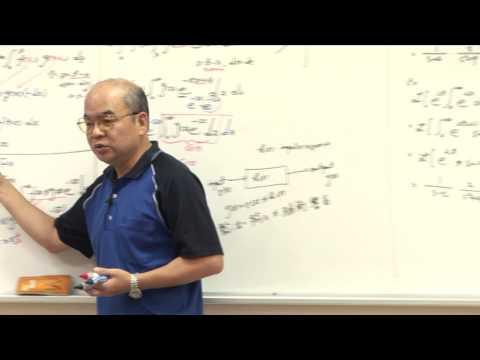 工程數學 單元(十六)之二 拉普拉斯 (Laplace) 轉換之基本特性