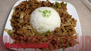 Mongolian Lamb Chinese Video Recipe cheekyricho