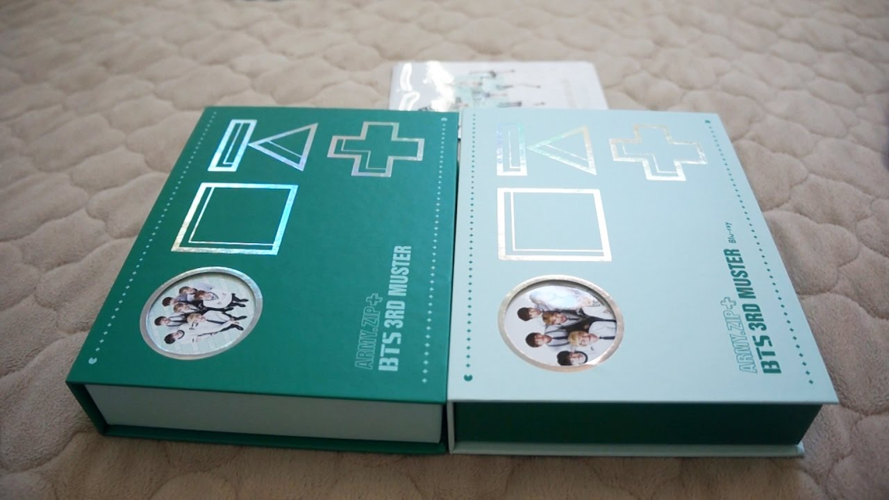 [UNBOXING] BTS 3rd Muster DVD + Bluray
