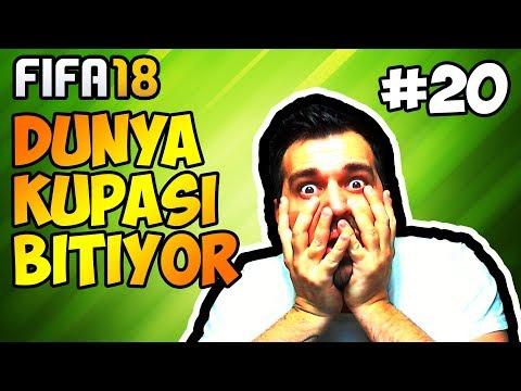 Fifa 18 Fenerbahçe Kariyeri / Dünya Kupasına Erken Veda mı ? / #20