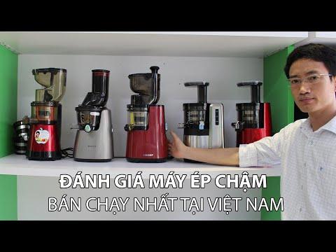 Đánh giá các dòng máy ép chậm được sử dụng nhiều nhất tại Việt Nam