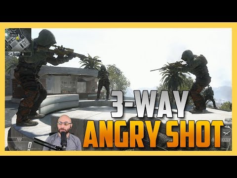 Convince Them Not To Kill You - 3 Way Angry Shot!
