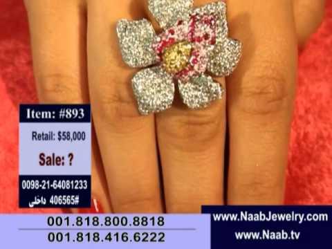 NJ, Naab Jewelry TV Show Episode-208, NAAB TV, NJ BRAND, NJ JEWLERY SHOW