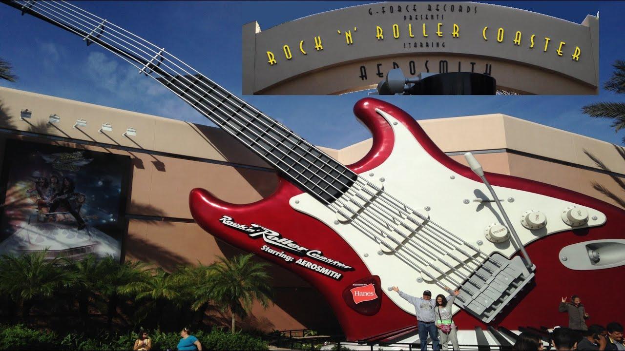Aerosmith's Rock 'n' Roller Coaster POV HD On-Ride Walt Disney World  Hollywood Studios GoPro Hero4 - YouTube