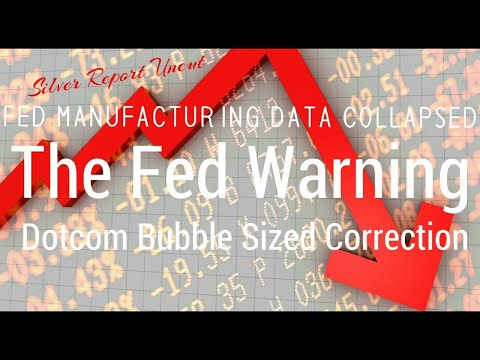 The Fed Warning Dotcom Sized Market Correction as Manufacturing Print Collapsed