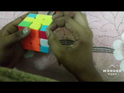 How To Solve The Fish Method In Rubik Cube(Tamil)😃😉