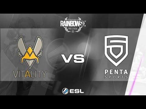 Rainbow Six Pro League - Season 1 - PC - EU - Team Vitality vs PENTA Sports