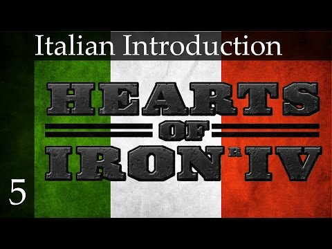 Hearts of Iron 4 - Italy Part 5 (Production and Government)