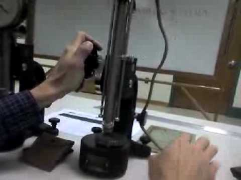 Hardness Testing Of A Gear Using A Scleroscope Youtube
