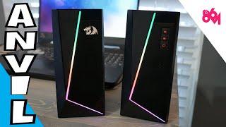 Redragon Anvil RGB Speakers!