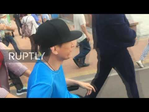 Kazakhstan: Dozens detained at anti-government rally in Almaty