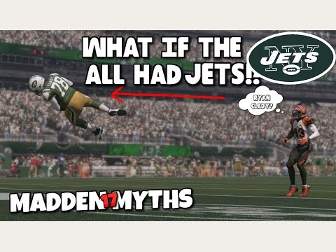 WHAT IF THE NEW YORK JETS ALL HAD JETS (99 speed)?? Madden 17 Mythbusters