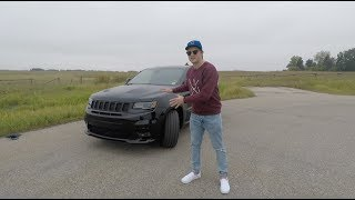 THIS is the 2017 JEEP Grand Cherokee SRT - FIND out why it is a 475HP ANIMAL!!! - Review