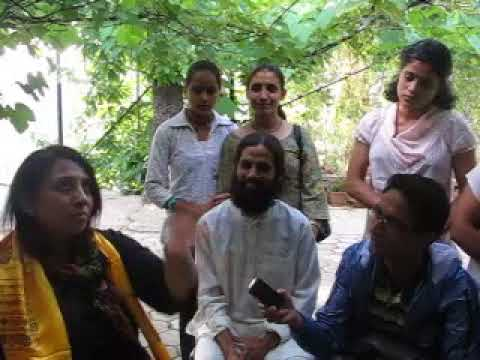 Spiritual Talking with Tripti Jain in Nepal some years ago