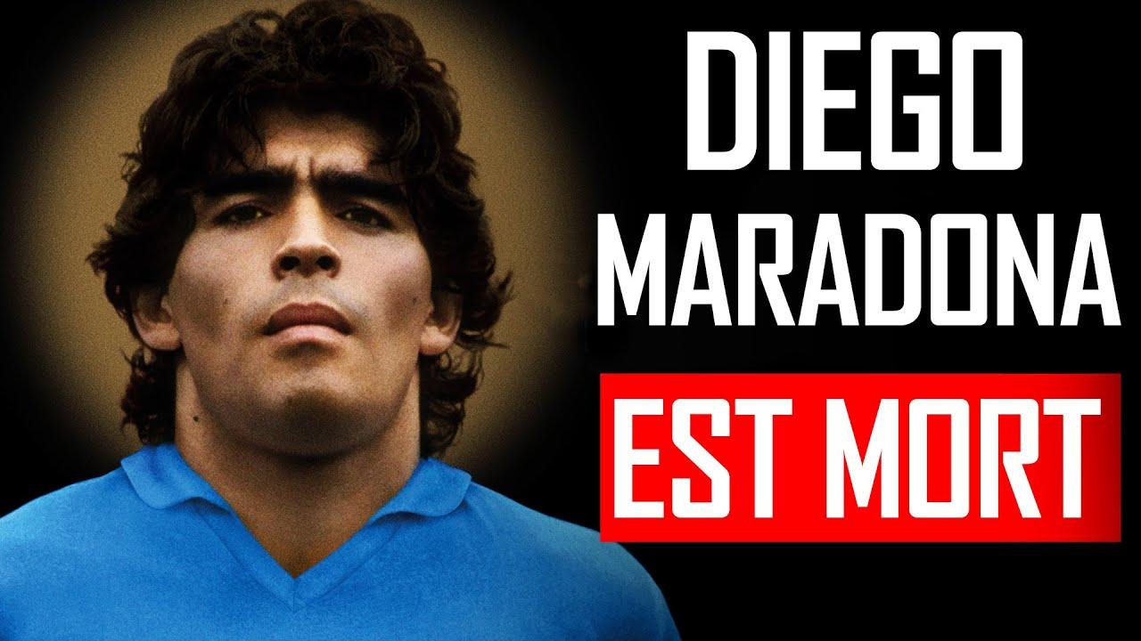 Diego Maradona Est Mort [Mais Pas Son Dernier Message]| H5 Motivation