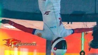Аэротруба Freezone полет чемпиона мира Михаила Разомазова
