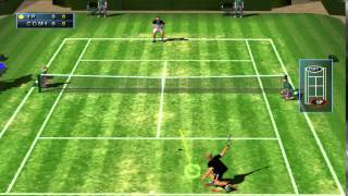 (PS2) Agassi Tennis Generation (SLUS-20446) GamePlay PSXPLANET.RU