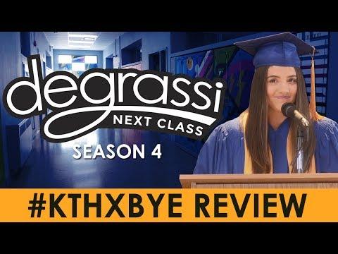 #KThxBye Review (Degrassi: Next Class Season 4, Episode 10)
