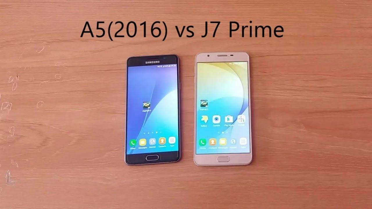 SAMSUNG J7 Prime VS A5 2016 FULL Comparision HINDI