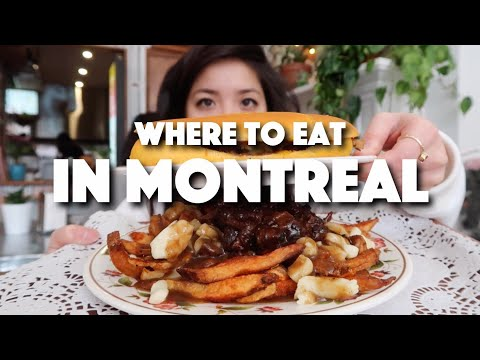 Where to eat in Montreal (THE BEST jerk POUTINE) 🍟 | Ep.1 Quebec