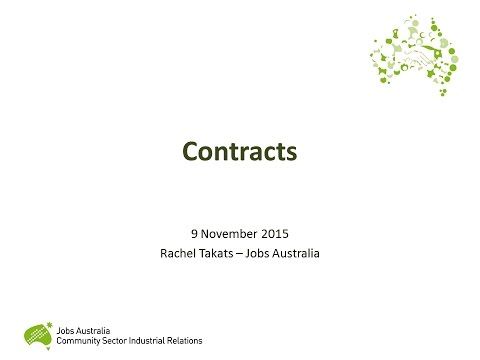 Contracts of Employment Presentation