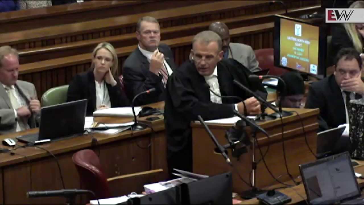 State Prosecutor Gerrie Oscar knew Reeva was behind the door