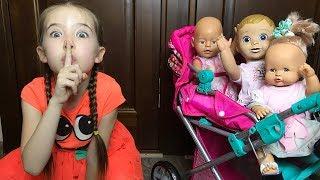 Машины Куклы веселятся и не хотят спать
