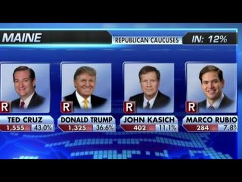 Sen. Ted Cruz wins Maine Republican caucuses