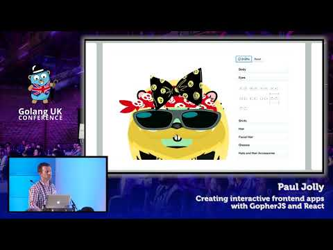 Golang UK Conference 2017 | Paul Jolly - Creating interactive frontend apps with GopherJS and React