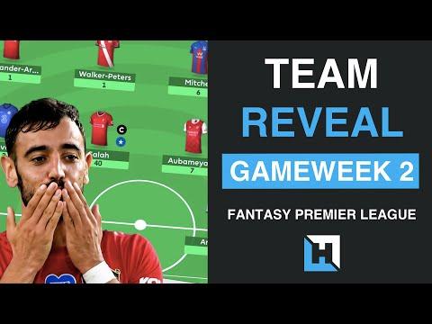 FPL TEAM REVEAL Gameweek 2 | Fernandes in? | Fantasy Premier League Tips 2020/2021